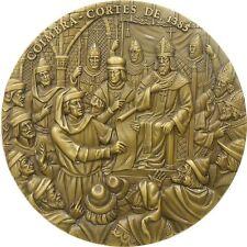 BRONZE MEDAL PORTUGUESE OF D. JOÃO I CORTES 1385 BY CABRAL ANTUNES. M30