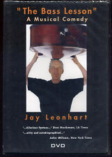 jay leonhart  THE BASS LESSON  a musical comedy  DVD NEW actual item pictured