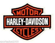 "4-1/8"" GENUINE HARLEY DAVIDSON BAR AND SHIELD ~ INSIDE WINDOW DECAL STICKER!"