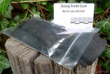 Char cloth in re-sealable bag for Bushcraft, Survival, Pioneers, Scout, Camping,