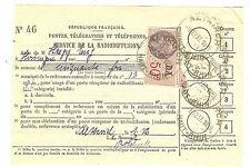 TIMBRES FISCAUX SERVIVE RADIODIFFUSION ALTKIRCH CACHET AUTOPLAN 1-12-1937