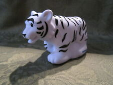 Fisher Price Little People Zoo Talkers Animal White Tiger Train  talker lot