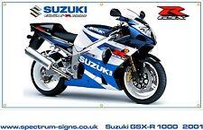 SUZUKI GSX-R 1000 K2 Weatherproof Banner Garage/Workshop 1.1mtr x 600mm
