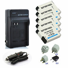 Battery / Charger For Panasonic Lumix DMC-FT5, DMC-FT6, DMC-TZ70 Digital Camera
