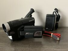 JVC COMPACT VHS-C CAMCODER GR-AXM225U Bundle With Charger & Battery *READ*