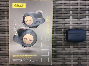 Jabra Elite Active 65t True Wireless In-ear Headphones Earbuds 4 Mic Blue