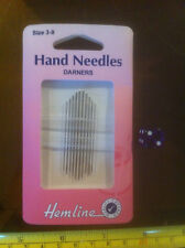 Hemline Size 3 / 9 Darners Hand Needles x10 Tapestry Sewing Embroidery New