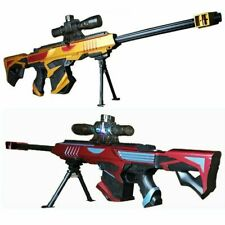 Sniper Soft Bullet Military Kids Weapon Play Toy Blaster Infrared Water Bullets