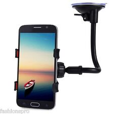 360 Degrees Rotation Long Arm Car Windshield Holder Bracket Stand Cell Phones