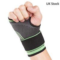 UK Sports Wrist & Hand Support Strap - Tennis Golf Gym Squash Bandage Wrap