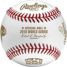 1 Dozen Rawlings 2018 Official World Series Dueling Baseballs Red Sox VS Dodgers