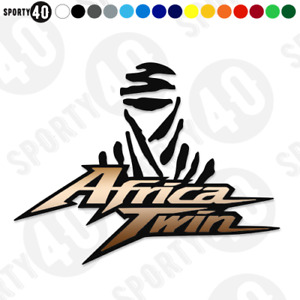AFRICA TWIN Vinyl Decals / Stickers  - 2 colour - CRF 1000L 750  2404-0319
