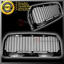 Raptor Conversion Gloss Black Mesh Grill Grille+Shell 15-16 Ford F150 2017 2016
