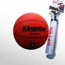 2017 Kingstar Official Basketball King Game Ball Outdoor/Indoor Basket Ball Pump