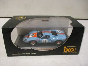 IXO Models Ford GT40 Gulf Le Mans 1968 Oliver, Muir 1/43