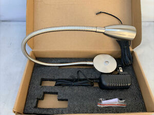 Acegoo A18-RL3-H-D Dimmable Reading Mount Chrome Flexible LED Lamp