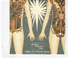 (HL296) Bombay Bicycle Club, Lights Out Words Gone - 2011 DJ CD