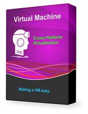 Virtual Machine Run Windows Mac Ubuntu Linux PC Desktop Operating System DVD