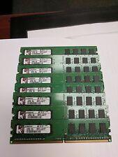 4GB = 4 x 1GB PC2-6400U 1RX8  DDR2-800MHZ  128X8 8CHIPS 240PIN NON-ECC PC  RAM