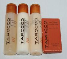Tarocco Sicilian Blood Orange travel size Shampoo Conditioner Moisterizer Soap