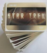 2014 STAR TREK MOVIES - 2009 STAR TREK MOVIES SILVER CARD - Make up your set