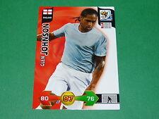 JOHNSON ENGLAND  PANINI FOOTBALL FIFA WORLD CUP 2010 CARD ADRENALYN XL