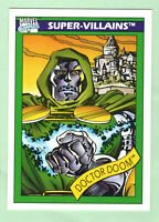 1990 Marvel Universe-SUPER VILLAINS- Dr. Doom-#60-Impel Mktg.