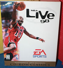 NBA Live 98 by EA Sports PC CD-ROM CIB