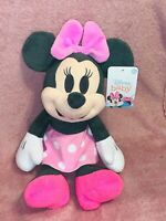 New DISNEY MINNIE MOUSE BABY 0+ month PLUSH Stuffed Animal Toy Child