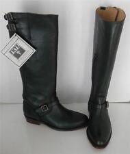 Frye Dorado Green Riding Equestrian Leather Buckle Knee High Boots 5