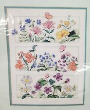 "From The Heart Counted Cross Stitch Kit ""Petit Fleur""  11x14"