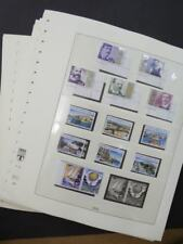 EDW1949SELL : GREECE Very clean, VF MNH grouping of all Euro Issues. Face €1,026