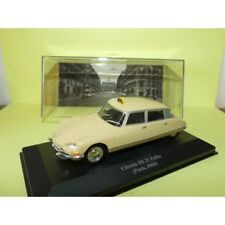 CITROEN DS 21 PALLAS TAXI de PARIS 1968 ALTAYA 1:43