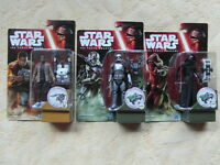 STAR WARS THE FORCE AWAKENS FINN JAKKU CAPTAIN PHASMA KYLO REN VON HASBRO DISNEY
