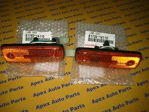Toyota Pickup Celica Land Cruiser Tercel Front Side Marker Light Set Genuine OEM