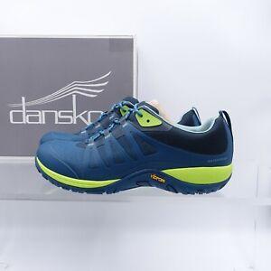Size 12 Women's / EUR 42 Dansko Phylicia Waterproof Sneaker 4357-191946 Teal