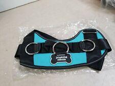 New listing JoyRide Dog Harness, Size Large, Teal/Blue