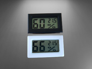 Digital LCD Incubator Hatching Humidity Thermometer Hygrometer with batteries
