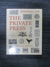THE PRIVATE PRESS Roderick Cave Book Reference 1983 H169