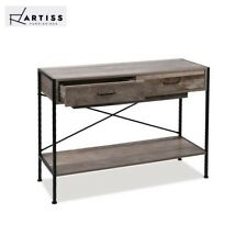 Artiss Console Table Entry Hallway Side Table Display Desk Industrial Rustic