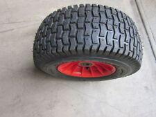 """16"""" Wheel barrow tyre PU 6.50 x 8 Solid wheel plastic rim No air"""