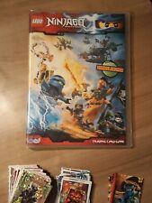 LEGO Ninjago 2016 Serie 1 Sammelalbum/Karten, 2017 Serie 2,Nexo Knights, Puzzle
