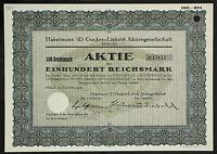 GERMANY 901/B&G -Habermann & Guckes-Liebold Aktiengesellschaft 100 RM 1928 Berli