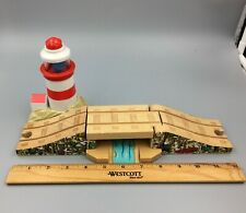 Thomas The Train Wood Wooden Lighthouse Draw Bridge Light & Sounds