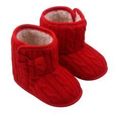 Toddler Girl Boots Shoes Newborn Baby Winter Warm Soft Sole Prewalker Sneakers