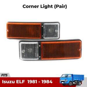 L+R Turn Signal Light Driving Lamp Fits Isuzu ELF Heavy Duty Truck 1981-84 EBSH