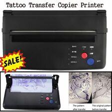 Tattoo Stencil Maker Transfer Printer Thermal Copier Printing Machine Supplies