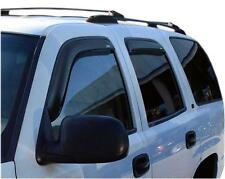 Window Vent Shade Visors IN CHANNEL Smoke 194304 For CADILLAC ESCALADE 2002-2006