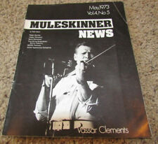 Muleskinner News *Vassar Clements* May 1973 *Ralph Stanley* VG