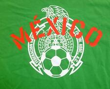 MEXICO ADIDAS MEN'S SOCCER FEDERACION MEXICANA T-SHIRT LARGE NEW WITH TAGS